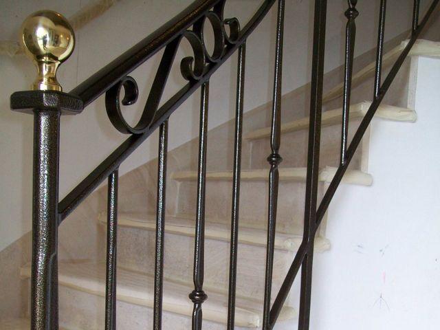 Construction De Rampes D Escalier Et De Rambardes Pres De Troyes