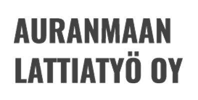 Auranmaan Lattiatyö