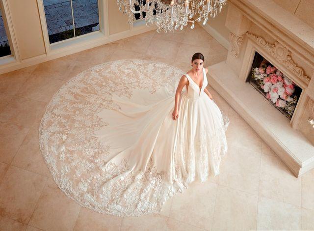 Robe de mariage à Bordeaux : robe de créatrice
