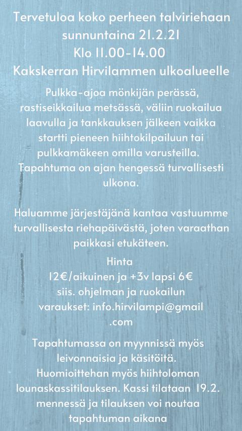 Harrasteauto Tapahtumat 2021 Turku