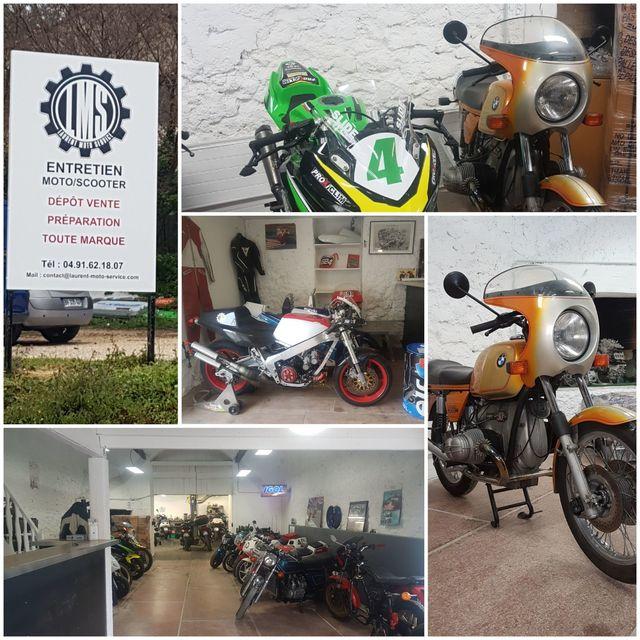 Laurent Moto Service : entretien de motos et scooters Plan