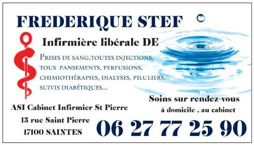 Frederique Stef Infirmiere Liberale DE A Saintes En Charente Maritime