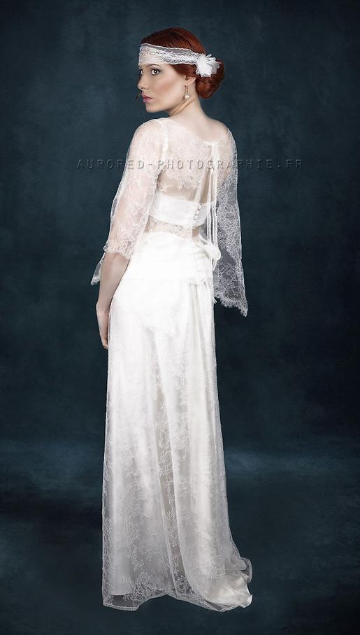 Haudebourg Céline, créatrice de robes de